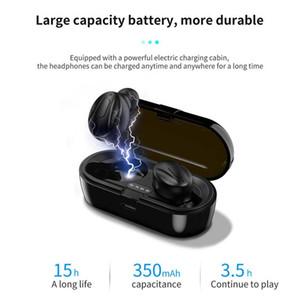 XG-13 TWS Bluetooth 5.0 Auricolari wireless auricolari in-ear Stereo Cuffie Riduzione del rumore Sport Auricolari per Android Telefono in scatola al minuto DHL