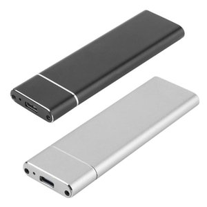 USB3.1 Type-C для M.2 M Key NGFF SATA SSD Box Solid State Drive Дело жилищного 10Гбит M2 SSD 2280 жесткий диск корпуса