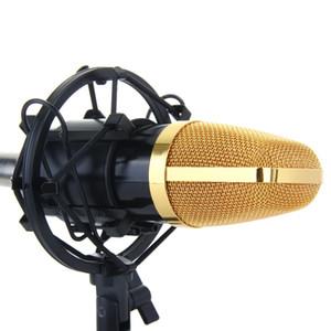 Universal Black Studio Recording Microphone Shock Mount Holder Condenser Mic Clamp Clip Stand Shockmount Mike Suspension Spider