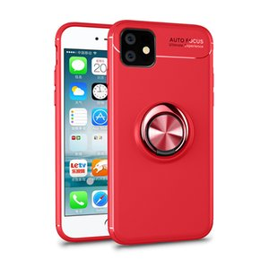 Luxury Phone Case For iPhone12 11Pro Max XS X XR 7 8 Plus With Ring Holder Stand Phone Case