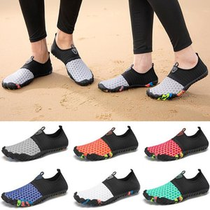 Hotsale Outdoor FLe-Finger Wading River Shoes Uppream Shoes Amphibious Soft Soles Beach Swimming antiscivolo e scarpe da cravatta per piede traspirante