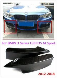For 2012-18 BMW 3 Series F30 F35 M Sport Carbon Fiber Front Wrap Angle Separator