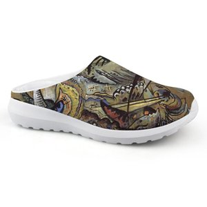Fashional Flat Sandals Man Casual Comfortable Summer Slippers House Beach Water Shoes For Wassily Kandinsky Master Piece