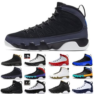 2020 jumpman 9 9s University Blue men basketball shoes Gold Racer Gym Red Anthracite athletic mens trainers sports sneakers size 7-13