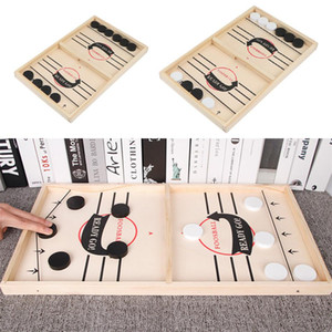 Foosball Winner Games Table Hockey Game Catapult Chess Parent-child Interactive Toy Fast Sling Puck Board Game Toys For Children KKD3479