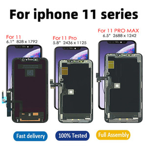 Yeni iphone 11 11 Pro 11 Pro Max LCD Ekran OLED TFT Dokunmatik Ekran Digitizer Değiştirme Meclisi