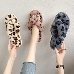 Fashion Style Automne et hiver Pantoufles de coton de coton pour femmes Personnes pantoufles non glissées Personnalité All-match Femmes Gardez des flangs chauds chauds1