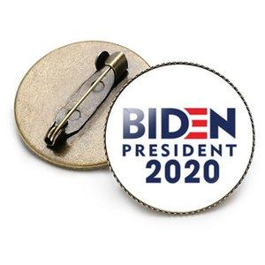 Joe Biden For President 2020 Small Brooch Pins Enamel Badge Lapel Pins Alloy Metal Fashion Jewelry Bag Clothing Hat Accessories