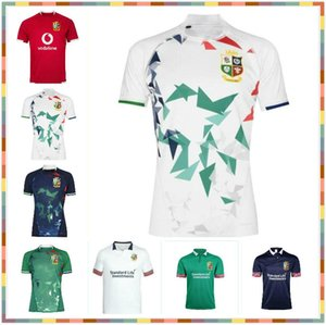 -2020 2021 2021 Lions Irlandês Britânica Rugby Jersey 20 21 Lions Britânicos Rugby Home Training Camisa Tamanho S-5XL