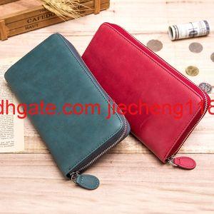 Wallet card bag integrated bag RFID men's leather large capacity women's long zipper organ card bag multi card slot