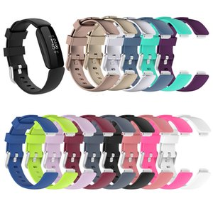Silicone Watch band Strap for Fitbit Inspire 2 bracelet anti-lost belt Smart Watch Replacement waterproof Band wholesale