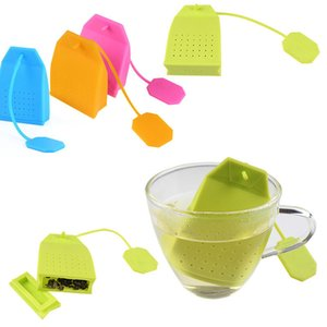 Food Grade Silicone Hangbag Tea Infuser Handbag Shape Loose Leaf Tea Strainer Herbal Filter Creative Tea Bag