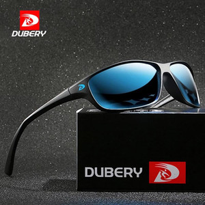 DuBery New Sport Style Polarized Sunglasses Men Marque Super Light Lunettes de vue Cadre Sun Lunettes Sun Lunettes Homme Voyage extérieur Voyages A47