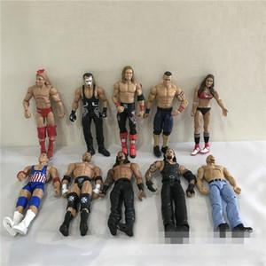 18 cm Yüksek Kaliteli Güreş Action Figure Oyuncak Karakterler Mesleği Güreş Gladyatörleri Çocuklar Için Çocuk Brithday Noel Hediyesi