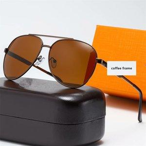 Box Classic Men's Punk High-End Sunglasses Designer Classic Открытые очки с лазерным сплавом Роскошные рамки Степень Стиль Солнцезащитные очки LOGO L PMLI
