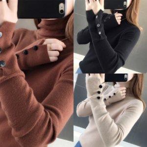 XDR Korean Batwing maglioni maglioni maniche eleganti dolcevita a strisce lunghe donne maglioni per maglioni giornalieri in morbida stile maglione donna