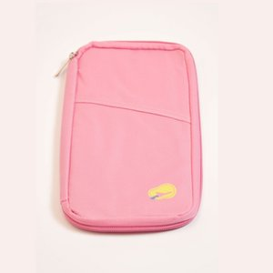 Travel Passport Holder Waterproof Wallet Purse ID Card Organizer Case Cover Multifunction Storage Bag Ticket Holder Document Bag 58 G2