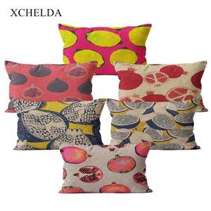 Modern Linen Throw Pillowcase Pink Cushion Cover 30*50 Nordic Home Decor for Sofa Bed Garden Pillow Cover Decorative Case