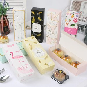 9 Style Candy Pineapple Cake Packaging Boxes Wholesale Paper Gift Boxes for Chocolate Mooncakes Macaron Party Cookies BED3080