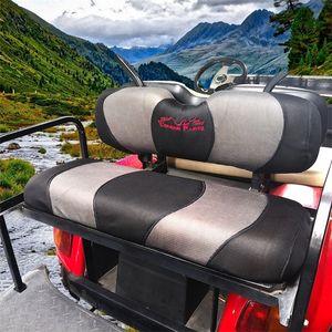 Condor Parçaları - Evrensel Golf Sepeti Arka Koltuk Örtüsü Seti Size Golf Arabası Arka Koltuklar Için Nefes Yıkanabilir Polyester Örgü Bezi. 201026