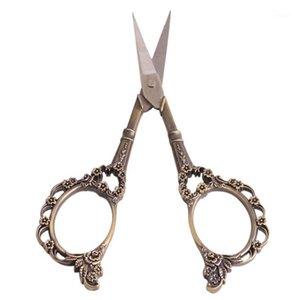 Ножницы из нержавеющей старинные швейные ножницы Цветочные швельные сливы Blossom Chrosh-Shower Scissor Antique Sheet Scissor для Tack Tool1