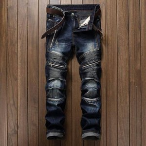 2021 Hot Sale Dropshipping Casual Men Jeans Slim Fit Hip Hop Denim Men`s Jeans High Quality Motorcycle Pants High Quality