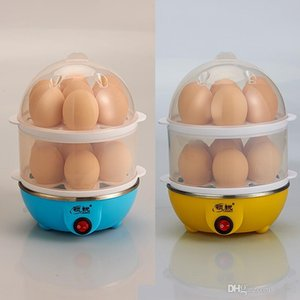 Egg Steamer Safety Automatic Power Off Mini Eggs Boiler Removable Heat Resistant Kitchen Accessories Anti Scald Trial Order 15ly dd