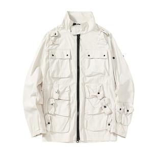 TopStoney 2020 Konng Gonng Сплошная мужская модная куртка, удобные повседневные уличные куртки Карманные топы оригинальные Turkishgq