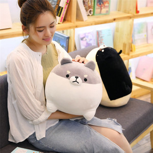 New 40 50cm Cute Shiba Inu Dog Plush Toy Stuffed Soft Animal Corgi Chai Pillow Christmas Gift for Kids Kawaii Valentine Present