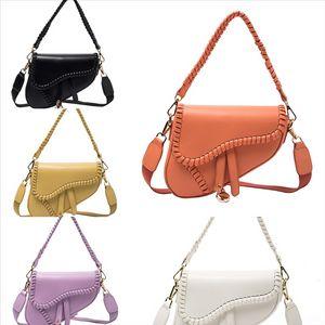 B9HS4 High Fashion Calidad Bolsos Bolsos Sencillos Bolsos Totes PU Retro Cuero Mujer Bolso Donación Donación Peticiones Mochilas Bolsa de Hombro Cruz