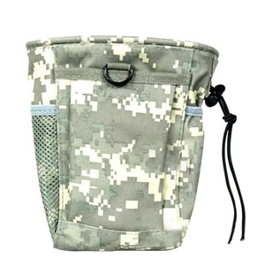 Climbing Hiking Multi-pocket Fishing Waterproof Waist Bag Recycling Pouch Drawstring Wear Resistant Travel Accessory Storage