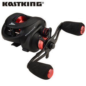 KastKing Spartacus Dual Brake Baitcasting Reel Max Drag 8KG 6.3:1 High Speed Lure Fishing Reel for Carp Fishing Z1128