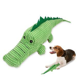 الكلب مضغ لعبة لطيف التمساح مضحك أفخم الصوت صرير عض لعبة الحيوانات الأليفة ل تسليم متوسطة الأسنان تنظيف الأسنان JK2012XB