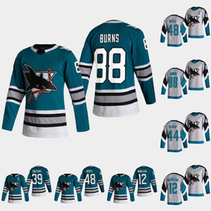 San Jose Sharks 2021 Heritage Jersey Brent Burns Logan Couture Patrick Marleau Stefan Noesen Erik Karlsson Tomas Hertl Radim Simek