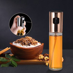 100ml 3.4oz Olive Oil Sprayer Spray Bottle Portable Oil Dispenser Mister for Cooking BBQ Salad Baking Roasting Grilling