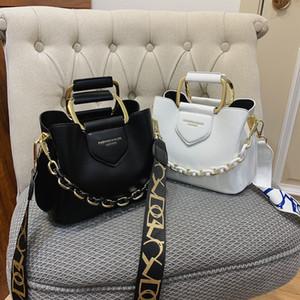 2020 Luxury Women's One-Shoulder Handbag PU Cuero Casual Fashion Bag Messenger Q1220