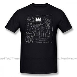 Basquiat T Shirt JEAN MICHEL BASQUIAT BEAT BOP ALBUM FAN ART T-Shirt 100 Cotton Plus size Tee Shirt Funny Fashion Tshirt