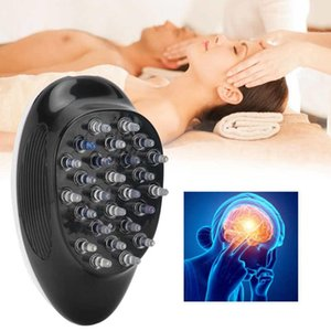 Hair Comb Electric Scalp Massager Portable Head Kneading Relaxation Massage Machine Device Shampoo Brush