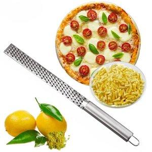 New Stainless Lemon Cheese Vegetable Zester Grater Peeler Slicer Kitchen Tool Gadgets Fruit Vegetable Chopper ZZC3450
