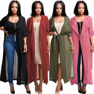 Retro Hot 2019 NEW Women Long Poncho Cape Coat Jacket Blazer Suit Shawl Plus Size Cloak Cardigan Outwear