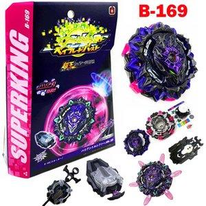 Sureking Burst B-169 변형 루시퍼 .MB 2D Spark Launcher Spap Launch Spinning Top Juguetes 금속 퓨전 자이로 스코프 장난감 어린이 소년 210128