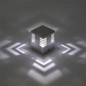 Cube LED Indoor Lighting Wall Lamp Modern Home Lighting Decoration Wall Sconce Aluminum Lamp 1W 3W 85-265V For Home Corridor