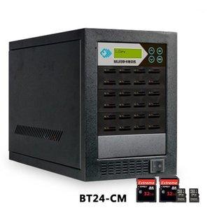 8 ports / 16PR TF + carte SD Duplicateur Copie haute vitesse, comparaison de données, formatée, copie cryptée) 1