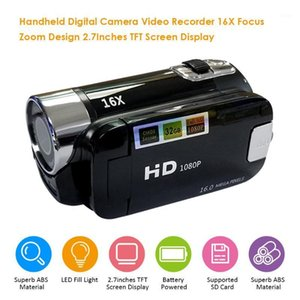 Cámara digital Video Recorder 16x Focus Zoom Design 2.7Inches TFT Pantalla de pantalla Batería compatible con Video Studio1