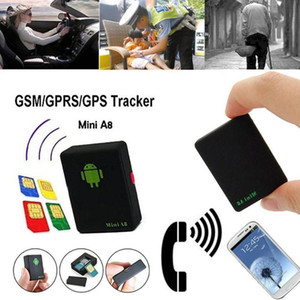 Mini Global A8 GPS Tracker Waterproof Auto Tracker Real-Time GSM  GPRS  GPS Tracking Power Tracking Tool For Children Pet Car