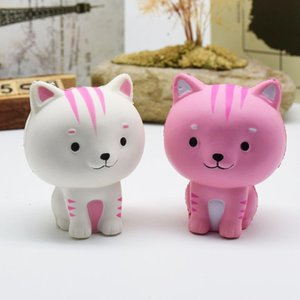 Kids Toys Jumbo Squishy White Cat Kawaii Cute Animal Slow Rising Sweet Scented Vent Charms Bread Cake Kid Toy Doll Gift