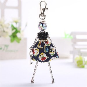 Ylwhjj Brand 2020 New Doll Baby Cute Women Keychain Car Pendant Girls Handmade Fashion Jewelry Bag Chains Hot Key Ring