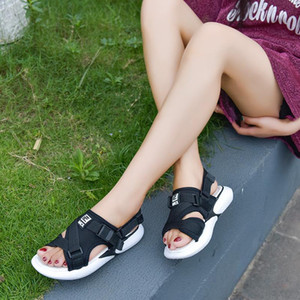 Summer Flat Platform Sandals Gladiator Sandals Women Shoes Woman Thick Bottom Beach Casual Shoes Boat Slippers