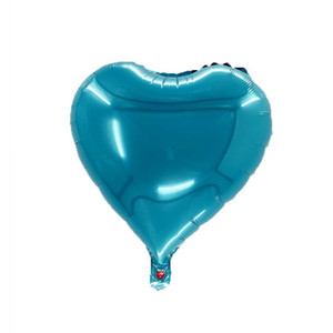 18in aluminum film love heart balloon Valentines day gifts Valentines day scene layout Full moon layout Wedding decorations YYF4407