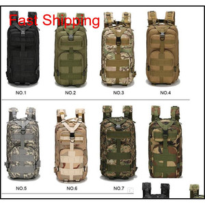 Tactical Backpack Military Backpack Oxford Sport Bag Molle Rucksacks 30L For Camping Climbing Bags Traveling Hiking Fishing Bags 2019 Kh652